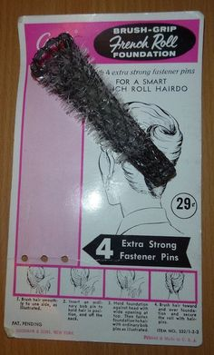 French Roll Twist Hair Styling Tool 50s