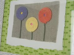 Nursery Wall Art  Coral Lavender Yellow  Like this color combo!