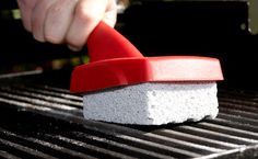Barbecue Cleaning - If your trusty cast-iron barbecue plates have grown a bit rusty over the winter months, here's how to restore it to as-new condition.