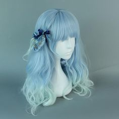 best online store for african american wigs cheap blue lace front wig elegance triple action hair gel blue 360 lace frontal wig cheap Dark Purple Hair, Purple Wig, Dark Hair, Blue Lace Front Wig, Blonde Lace Front Wigs, Anime Wigs, Anime Hair, Kawaii Hairstyles, Wig Hairstyles