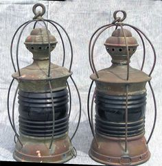 old ship lanterns