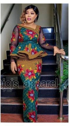 African Dresses For Kids, African Maxi Dresses, Latest African Fashion Dresses, African Print Fashion, African Attire, Ankara Skirt And Blouse, Ankara Dress Styles, Short Ankara Dresses, Africa Fashion