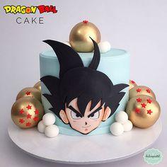 Cake art for kids fondant Best ideas Goku Birthday, Dragon Birthday, Naruto Birthday, Bolo Do Naruto, Beautiful Cakes, Amazing Cakes, Dragonball Z Cake, Fondant Cakes, Cupcake Cakes