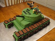 boy army birthday cake | More Buttercream Birthday Fun | CakesbyAdrianna's Blog