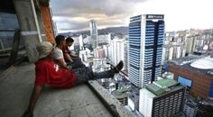 The world's tallest slum: Caracas' notorious Tower