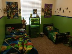Project Home Redecorate: Ninja Turtles Bedroom Ideas | Pinterest ...