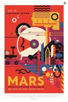 Vacanze nello spazio formato poster, la Nasa illustra i viaggi cosmici del futuro - Tgcom24 - Foto 2
