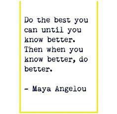 Maya Angelou quote #inspiration #motivation #motivationalquote
