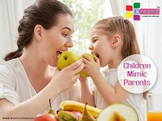 Be sure that you are setting the right example for your #kids! #Children mimic parents! You are their #superheroes!