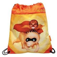 5ba142f267 ΤΣΑΝΤΑ ΔΡΑΣΤΗΡΙΟΤΗΤΩΝ SUPER DINO Ένα εντυπωσιακό πουγκί-τσάντα για την  πλάτη