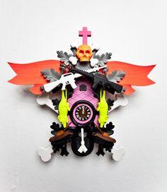 Stefan Strumbel clock
