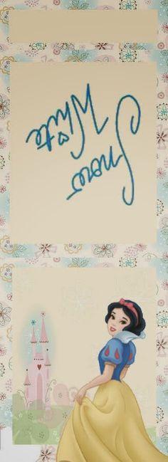 Snow White Free Printable Matchbox Favors.