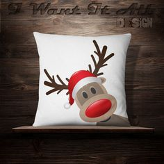 Cute Kids Pillow Design Ideas For Your Childrens - Christmas Crafts Sewing, Christmas Patchwork, Christmas Cushions, Christmas Applique, Christmas Embroidery, Christmas Pillow, Christmas Art, Blue Christmas Decor, Holiday Crafts