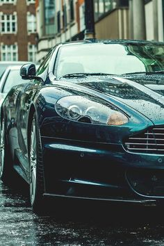 The Aston Martin is one of the most elegant grand tourer supercars available. Available in a couple or convertible The Aston Martin has it all. My Dream Car, Dream Cars, Aston Martin Db11, Luxury Cars, Luxury Auto, Love Car, Automotive Design, Fast Cars, Concept Cars