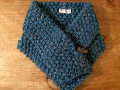 LAKSHI (Bright Blue) Mithrail Collar by Jools Elphick Knitwear see Fb