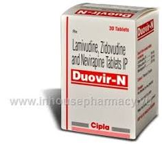 What is Duovir-N used for? Duovir-N is a fixed dose combination treatment for Human Immunodeficiency Virus (HIV) infection in adults. Duovir-N tablets are used to treat HIV patients who have already been treated with other HIV medications and have responded well to each of the drugs in the combination; and are also able to tolerate each of these medications, at the recommended doses without requi