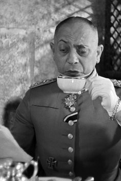 Eric Von Stroheim Director/Actor.  Known as the Man You Love To Hate.  He loved the German Aristocracy and often portrayed himself as such even though it was not true.  The 'Von' was a later addition to his name.