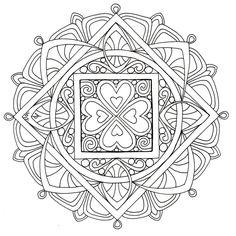 Mandala 2, July 2013 by Artwyrd