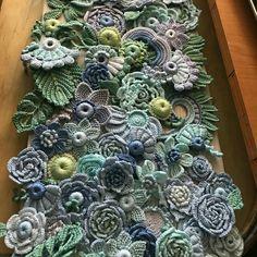 Something blue light blue wedding set flower 30 pcs diy kit to create irish crochet flower applique irish lace flower necklace crochet set – Artofit Art Au Crochet, Crochet Motifs, Crochet Flower Patterns, Freeform Crochet, Flower Applique, Irish Crochet, Crochet Stitches, Knit Crochet, Crochet Ideas