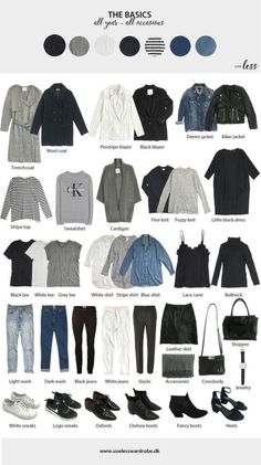 Awesome Autumn Capsule Wardrobe for Basic minimal pieces that work for women of all sizes. # Awesome Autumn Capsule Wardrobe for Basic minimal pieces that work for women of all sizes. Mode Outfits, Casual Outfits, Fashion Outfits, Womens Fashion, Fashion Ideas, Basic Outfits, Fashion Trends, Fashion Clothes, Winter Outfits
