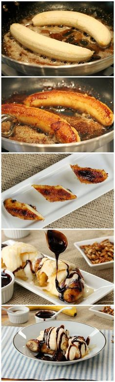 One night I was craving something sweet and nothing sounded good until….Brown Butter Banana Dessert….I thought about this dessert I get at o...