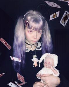 Neon Photography, Gothic Photography, Fashion Photography, Bad Princess, Multicolored Hair, Alternative Photography, Creepy Cute, Kawaii, Cute Characters