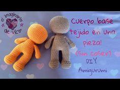 Free Amigurumi d pattern – BuzzTMZ Crochet Fox Pattern Free, Crochet Dolls Free Patterns, Love Crochet, Baby Knitting Patterns, Amigurumi Patterns, Doll Patterns, Crochet Baby, Knit Crochet, Crochet Videos