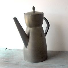 Norwegian Pewter Coffee Pot by SwitchbladeandCookie on Etsy, $70.00