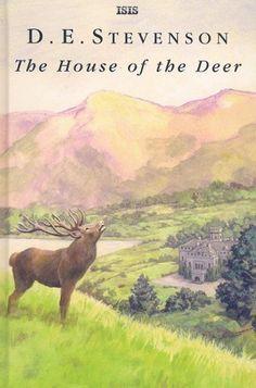 The House Of The Deer by D. E. Stevenson, http://www.amazon.com/dp/0753180820/ref=cm_sw_r_pi_dp_7dfArb0SC0013