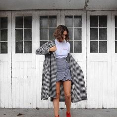 All the gingham  Skirt and tee by @lasulaboutique use code AR24. You can find the links to every item here over on my new blog post - link in bio
