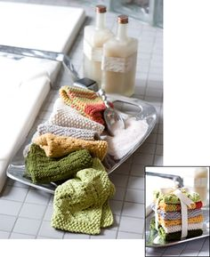 Knit washcloth patterns