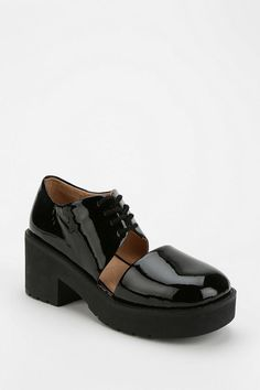 Jeffrey Campbell Open Up Cutout Platform Oxford #urbanoutfitters