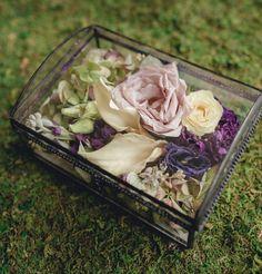 #memorialkeepsake #flowerpreservation #keepsake #keepsakebox #preservedflowers Freeze Dried Flowers, Wedding Bouquets, Wedding Flowers, Memorial Flowers, Funeral Flowers, How To Preserve Flowers, Flower Boxes, Flower Petals, Keepsake Boxes