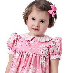Girls dress pattern - Precious Dresses, Classic Yoke-style, Boutique Pattern PDF E-Book. $9.95, via Etsy.