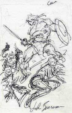 Conan by John Buscema Comic Art
