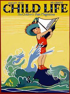 August 1926 - Child Life, The Children's Own Magazine