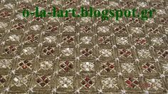 Beaded Embroidery, Cross Stitch, Beads, Gold, Needlepoint, Beading, Punto De Cruz, Seed Stitch, Cross Stitches