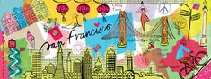 San Francisco, California by Farida Zaman