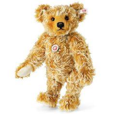 Steiff 021060 Goldi Teddy bear with growler