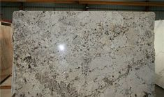 Finest white granite names and pictures only in popi home design White Kitchen Counters, White Granite Countertops, Kitchen Countertop Materials, Granite Stone, Kitchen Countertops, Gray Granite, Cozy Kitchen, Kitchen Ideas, Alaskan White Granite