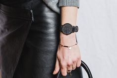 the-classic-black-black-leather-gold-indexing-lookbook   The Horse