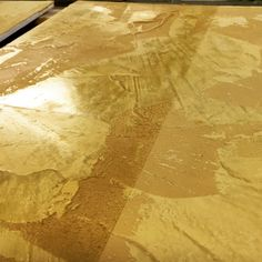 A custom gold wax was created for this architect's vision.
