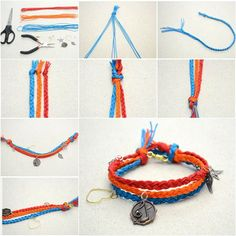 How to DIY Multi-Strand Macrame Friendship Bracelet | iCreativeIdeas.com Like Us on Facebook ==> https://www.facebook.com/icreativeideas