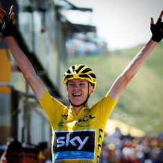 Tour de France 2015, stage 10 winner, Chris Froome.