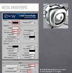 Vray 3Ds Max Metal Antisoptric