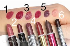 dark lipstick - how to wear and what works for your skintone. Great makeup tutorials!!!