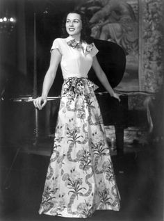 Bess Myerson, the first Jewish Miss America, 1945-1946.