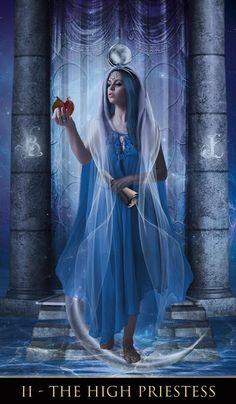 The High Priestess - Thelema Tarot