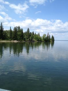 Clear Lake, Riding Mountain National Park, Manitoba.  It truly is a clear lake.  Amazing!