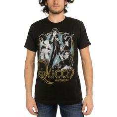 Queen - In Concert 30/1 Adult S/S T-shirt